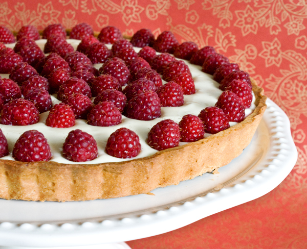 Raspberry Cream Tart: Sweet Treat Recipe from Sweet Basil ...