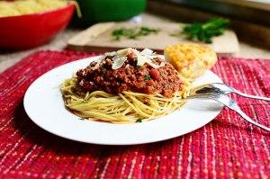 Garden Fresh Spaghetti