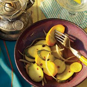 Summer Squash Pickles Recipe