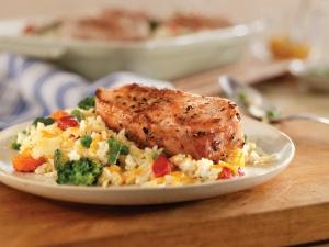 Healthy Pork Chop Casserole